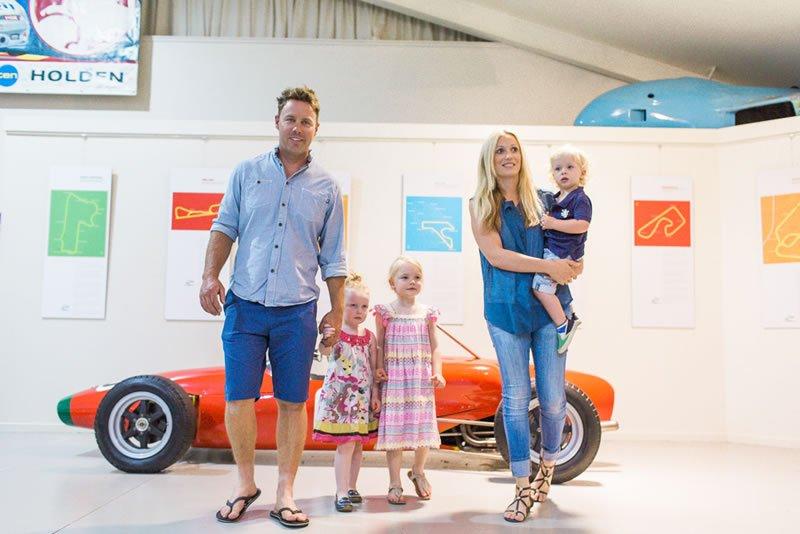 Family Road Trip National Motor Racing Museum
